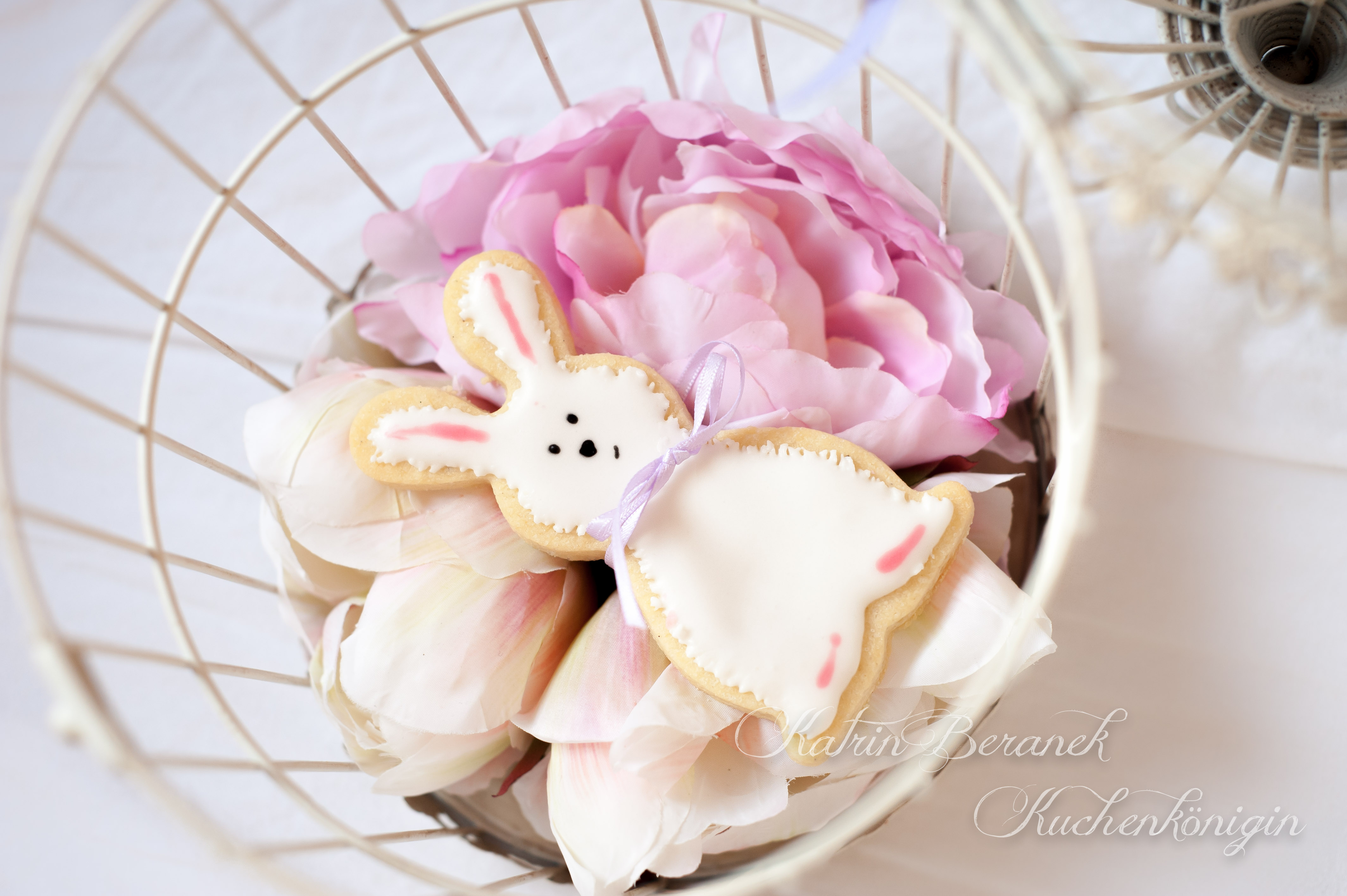 Kuchenkönigin Cookies Kekse Plätzchen Ostern