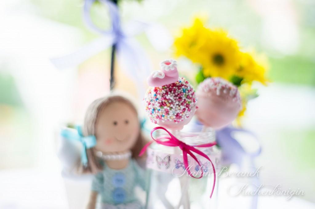 Cake Pops zur Babyshower