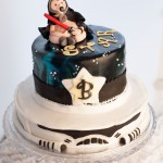 Star Wars Baby Shower Storm Trooper Cake
