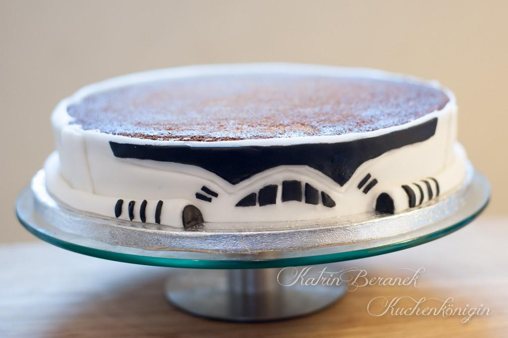 Storm Trooper Star Wars Cake Kuchen Dekorieren Fondant