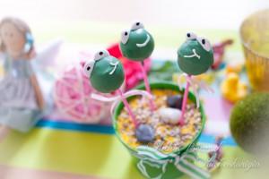 Kuchenkönigin Frösche Cake Pops
