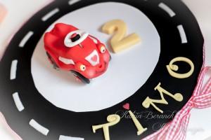 Bobby Car Kuchen Cake Fondant Auto Rutschauto
