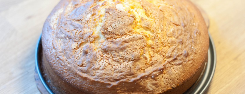 Buttermilch Vanille Tortenboden Rezept Anleitung