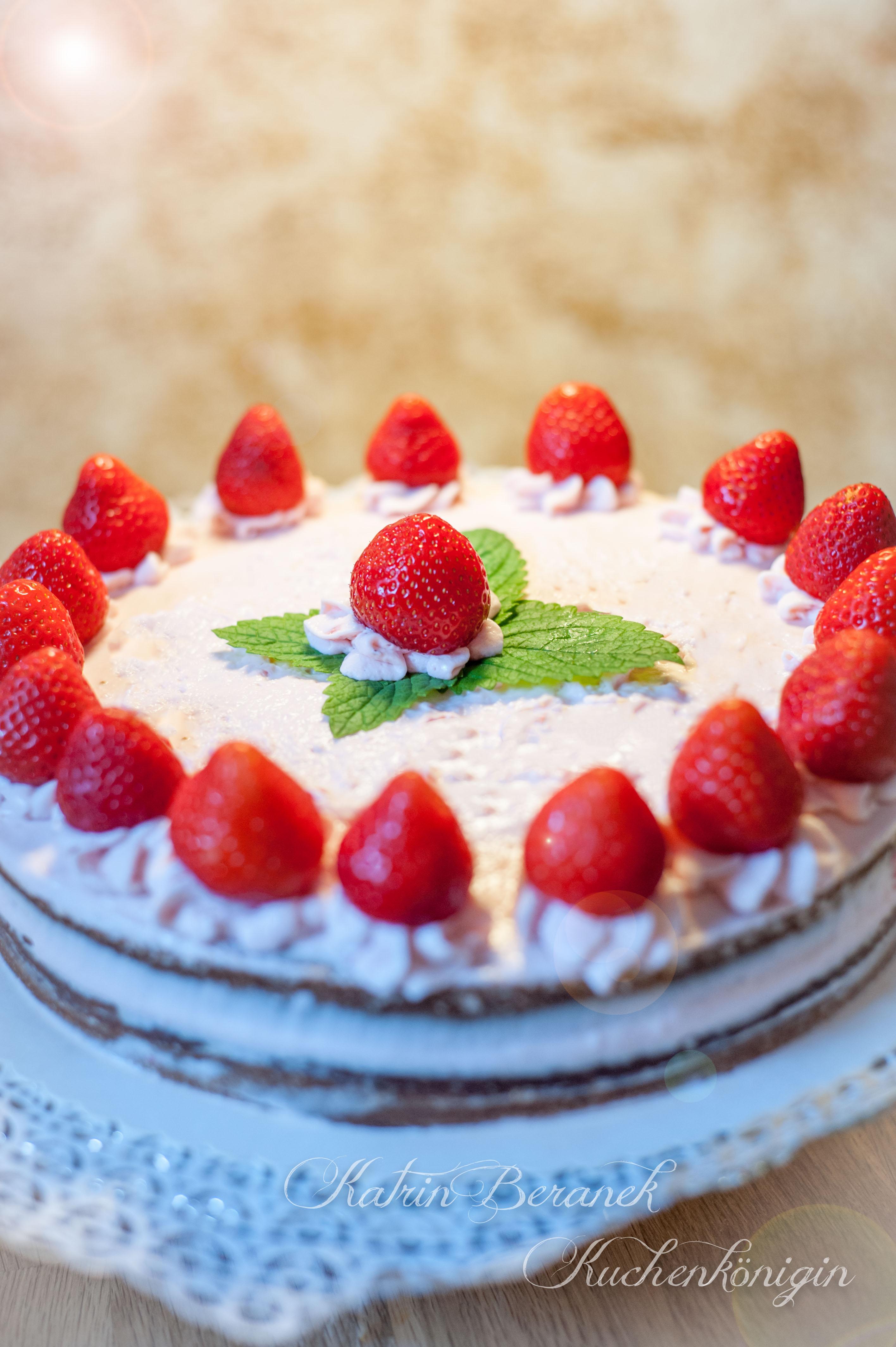 Erdbeer-Mascarpone-Sahne