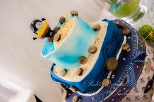 Kuchenkönigin Piraten Party Kindergeburtstag Minion Piratenprinzessin Fest
