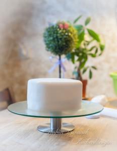 Fondant Kuchen Kuchenkönigin Decken Glätten