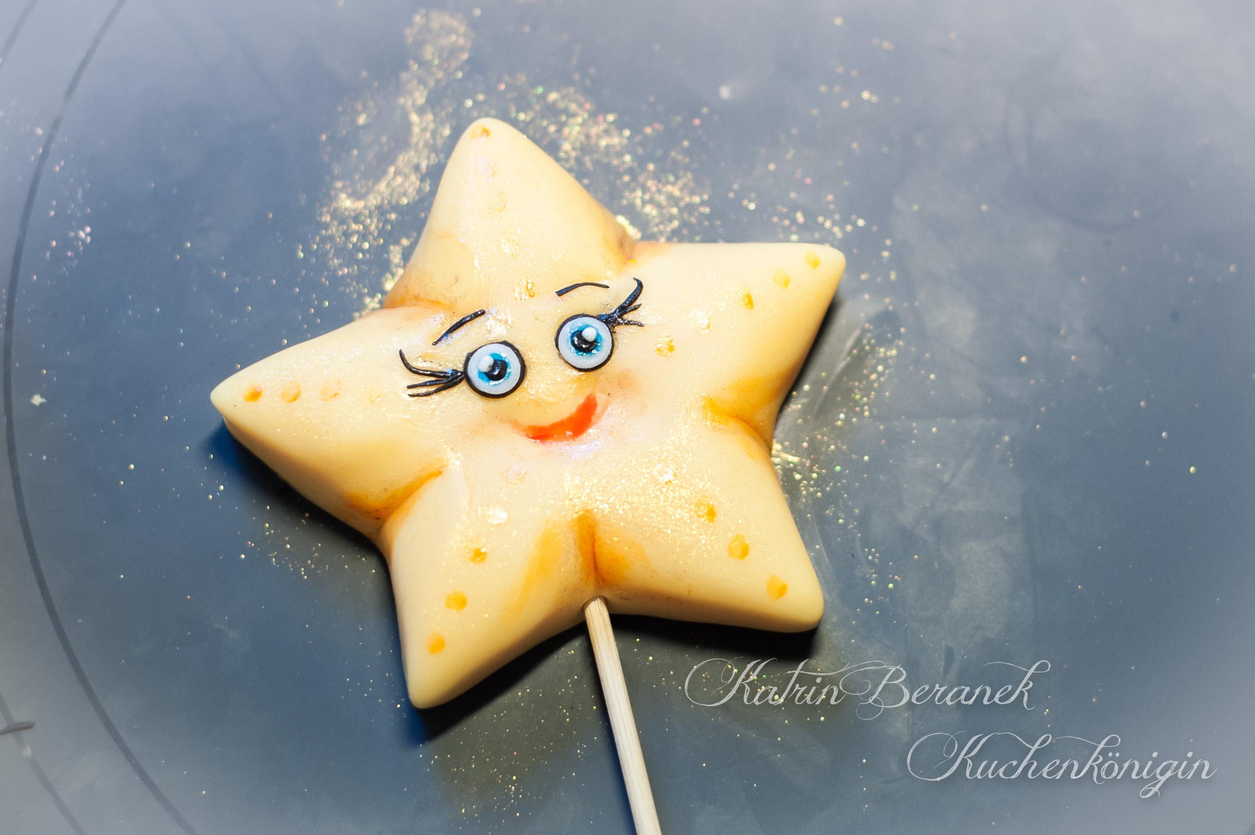 Stellas Stern Kuchen Kuchenkönigin Kinder Geburt Taufe