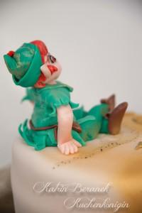 Peter Pan Cake Kuchenkönigin Wendy Nimmerland