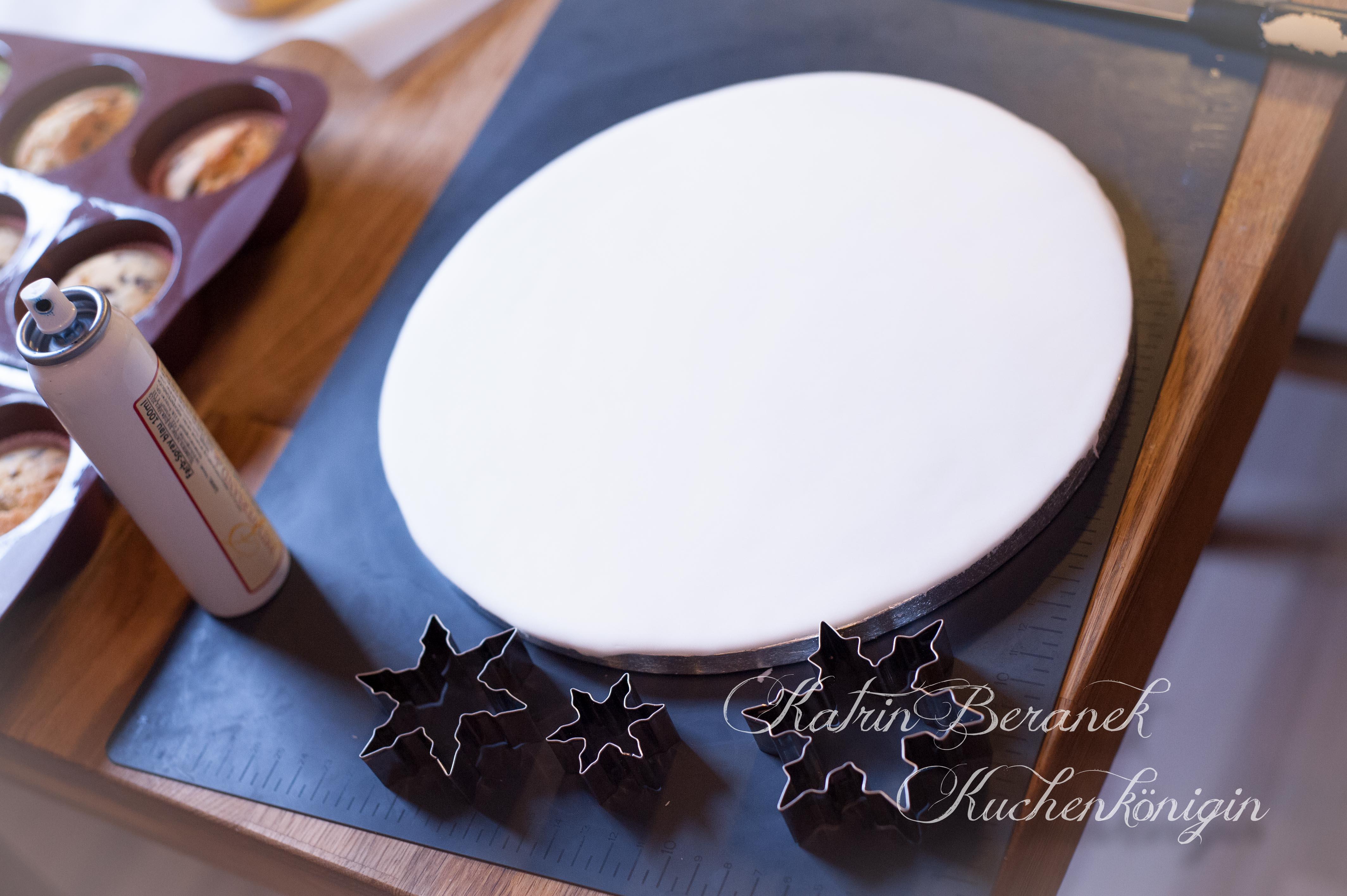 Kuchenkönigin Cake Board Tutorial Frozen Emily Disney Elsa