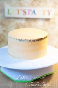 Butter Torte Schlagsahne Kitchen Aid Kuchenkönigin Mascarpone Exotik Creme