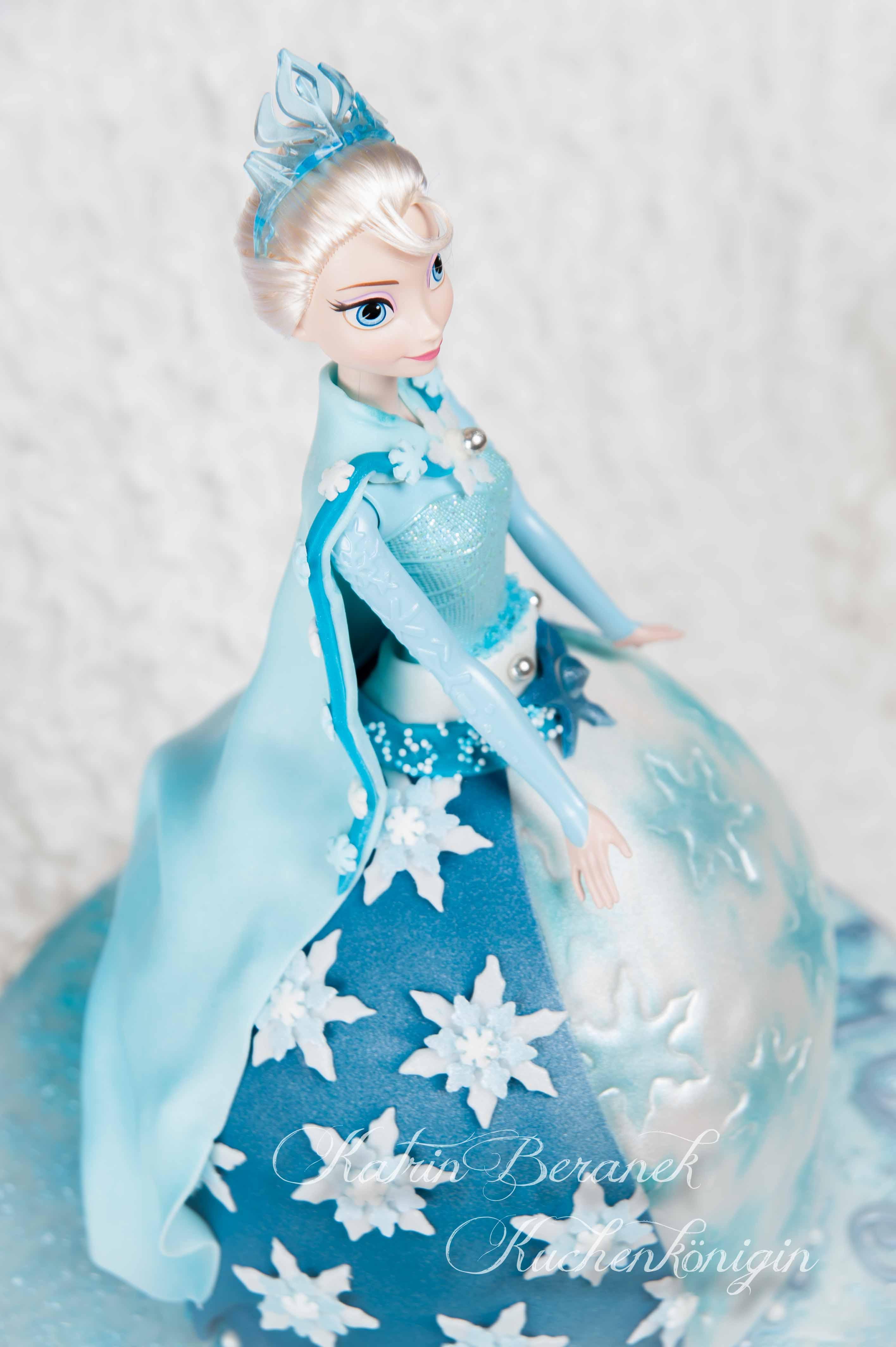 Kuchenkönigin Disney Frozen Princess Geburtstag Barbi Torte