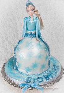 Kuchenkönigin Disney Frozen Princess Torte Kindergeburtstag