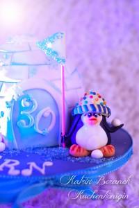 Iglu Pinguin Torte Kuchenkönigin