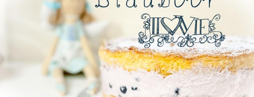 Kuchenkönigin Blaubeer Mascarpone Sahne Tortencreme Rezept