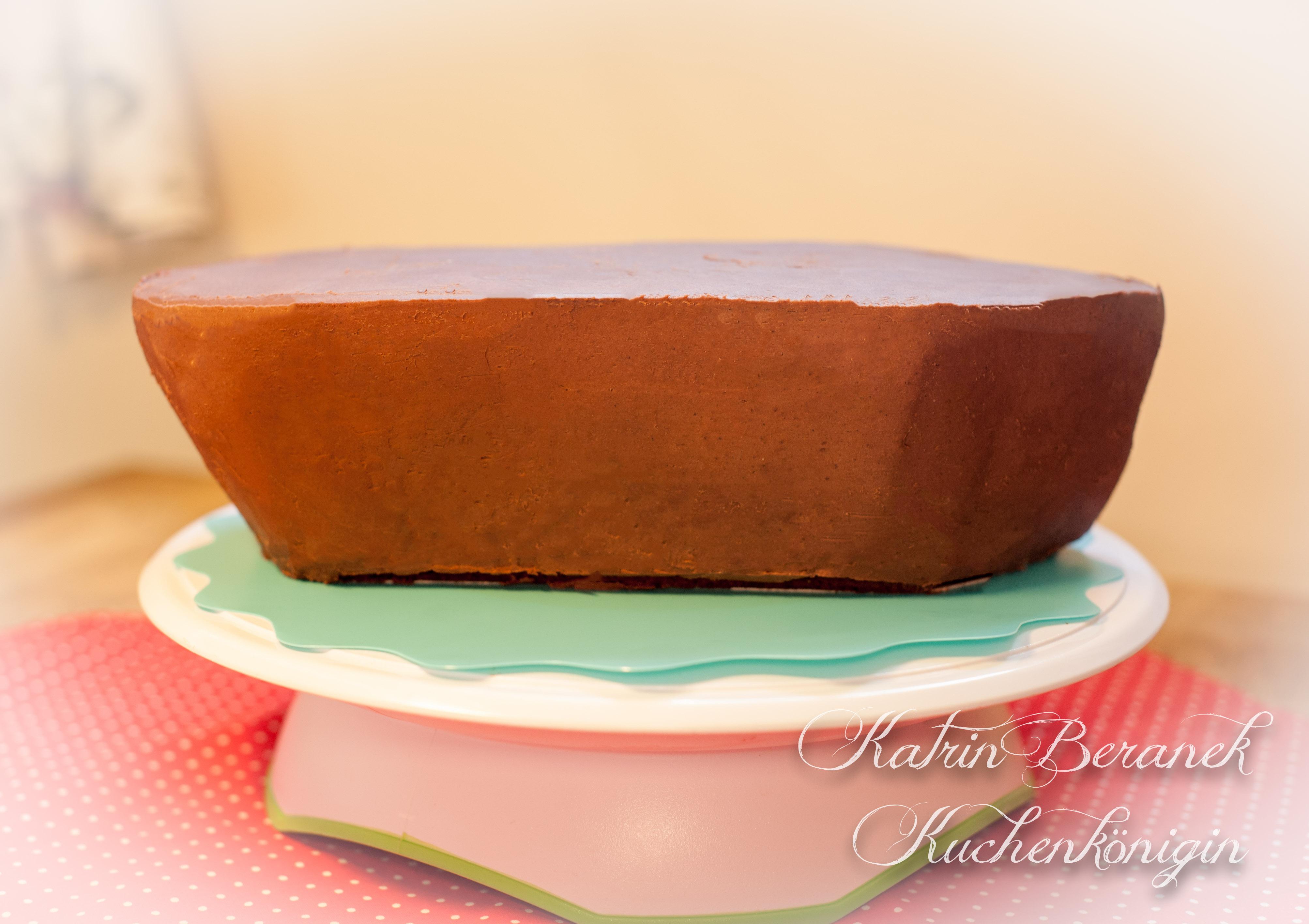 Kuchenkönigin Schiff backen Kuchen Torte Tutorial