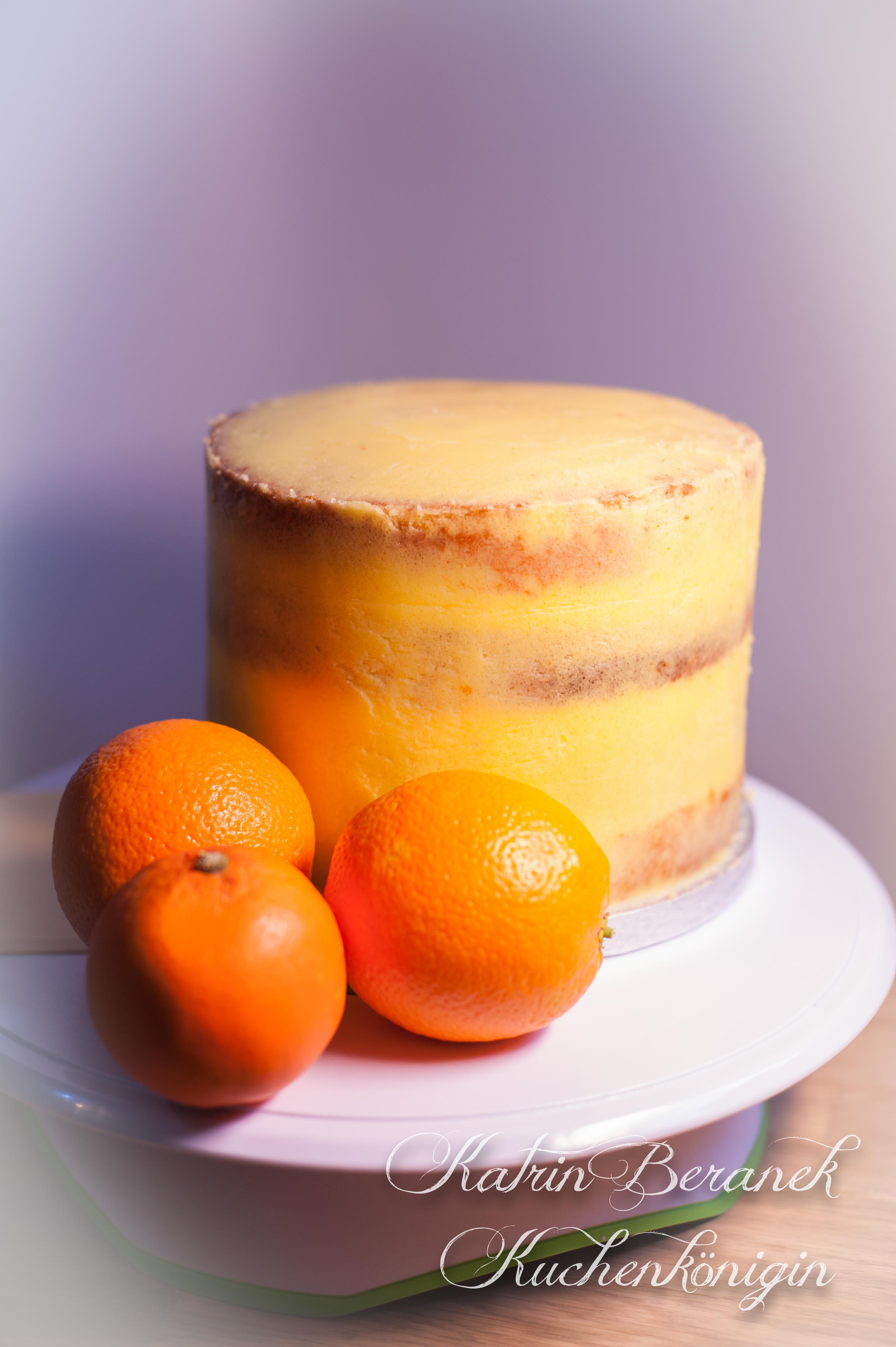 Vitaminbombe – Orangentorte