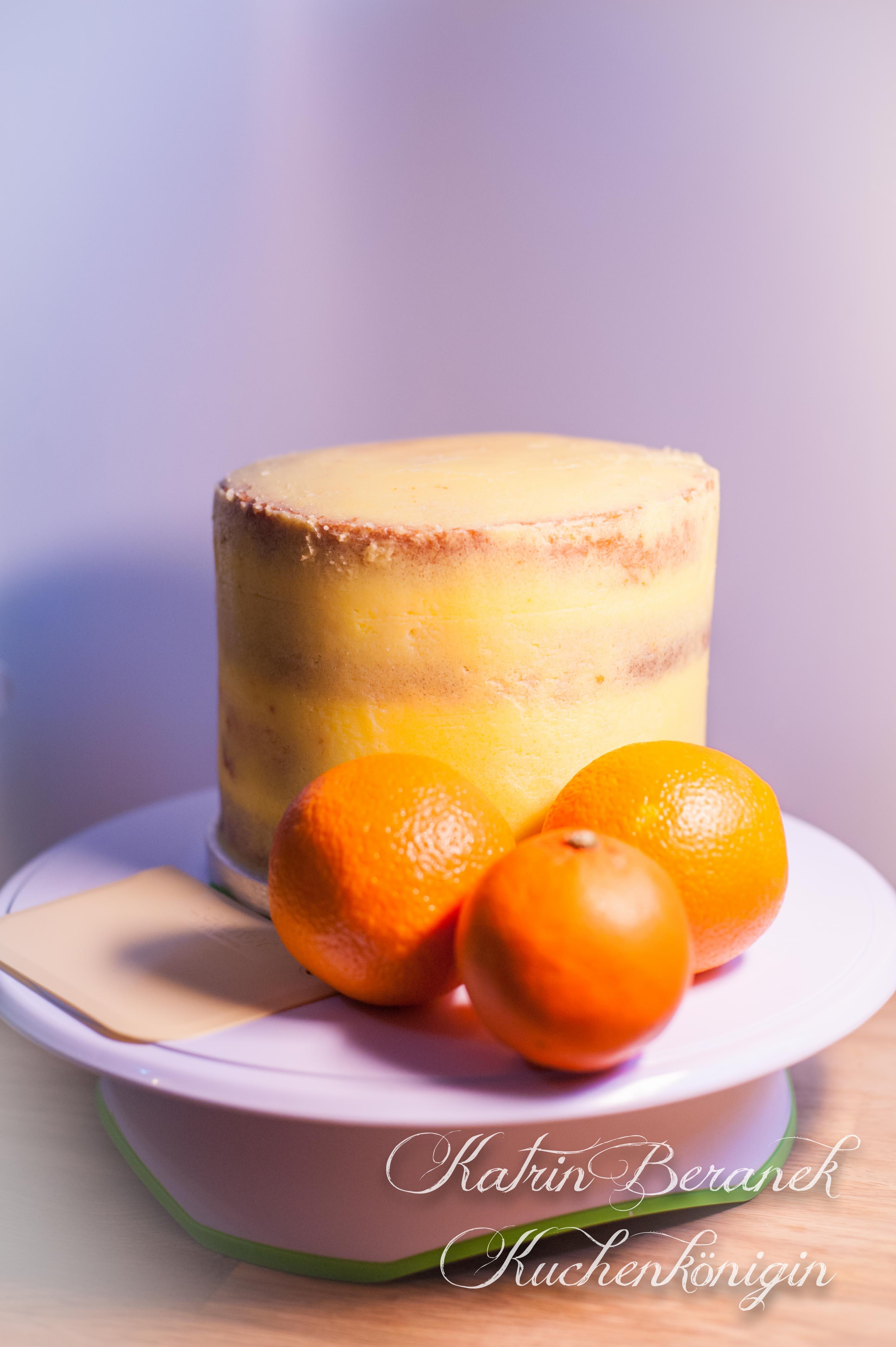 Fruchtige Orangencreme