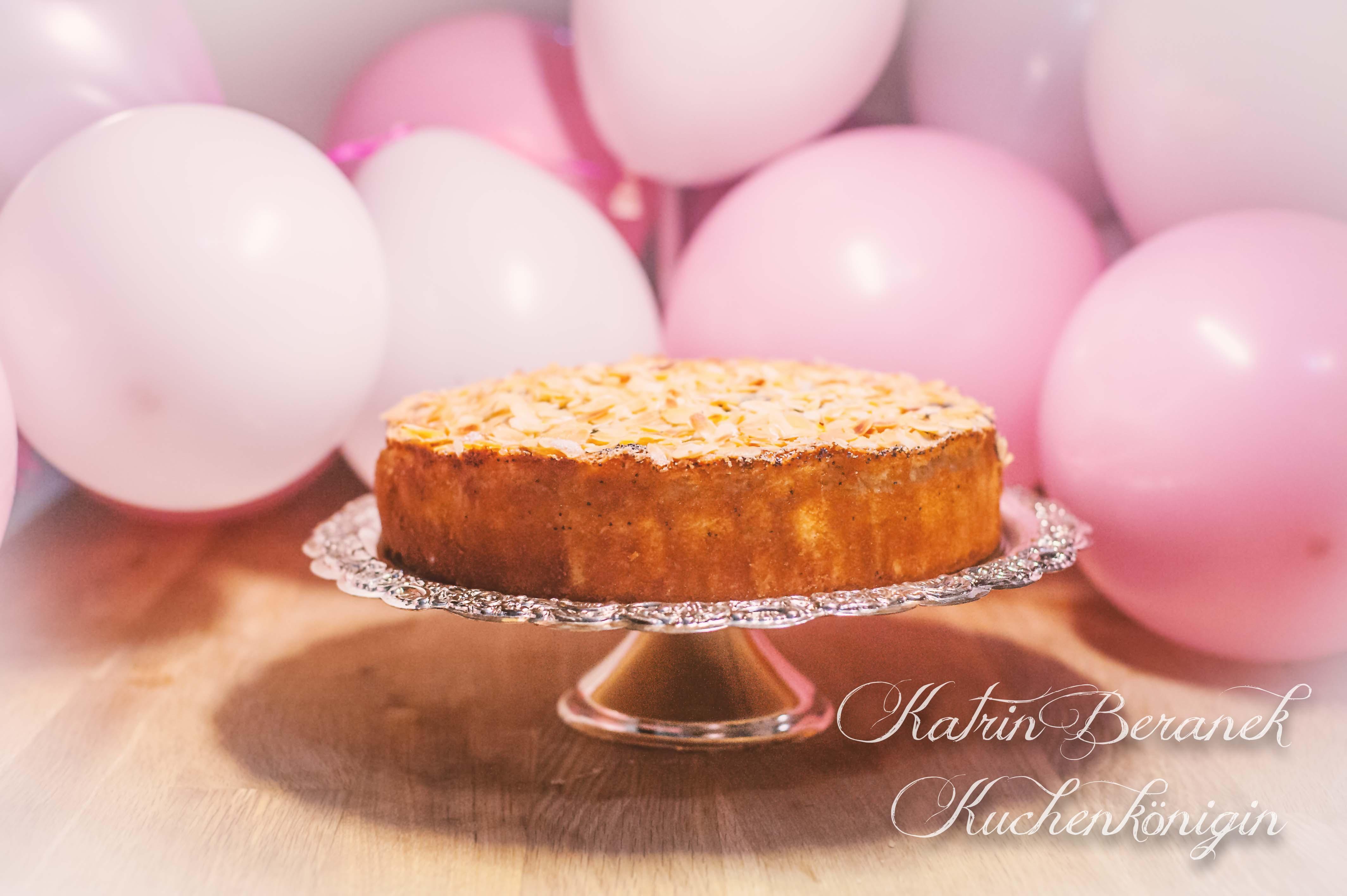 Buttermilch Mohn Mandel Kuchen