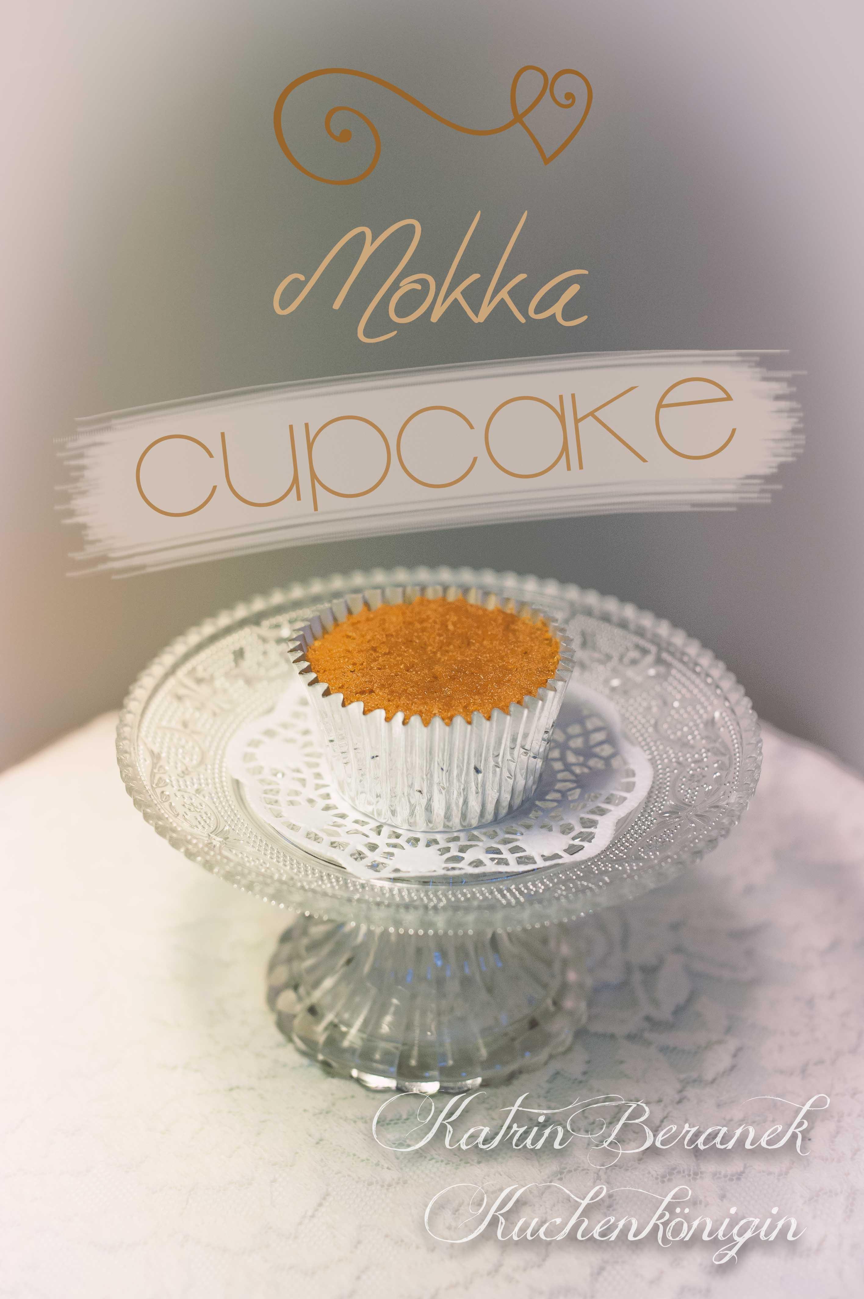 Mokka Cupcakes mit Café-Schokolade-Mousse-Füllung