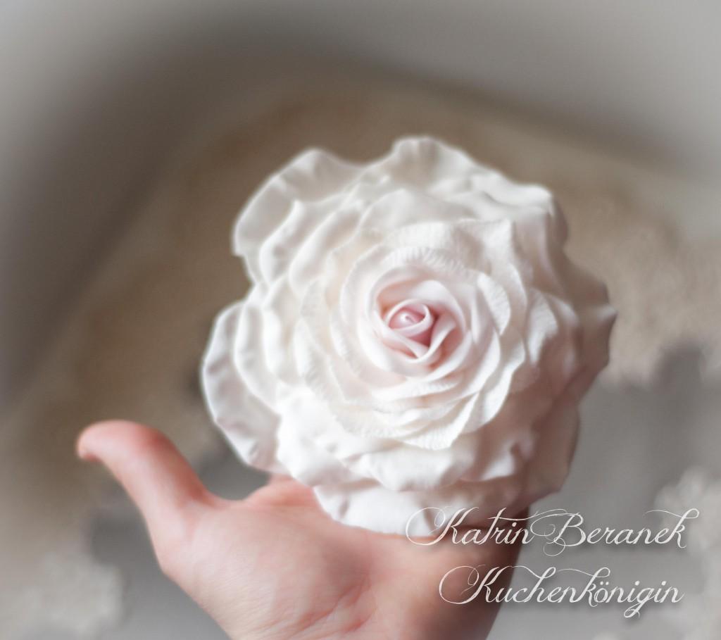 Kuchenkönigin Cupcake Wedding Hochzeit Hochzeitstorte Winterhochzeit Winter Schnee Zuckerspitze Fondant Tutorial Rezepte Cupcakes Mint Altblau Creme Rose Vintage Fondant Rose