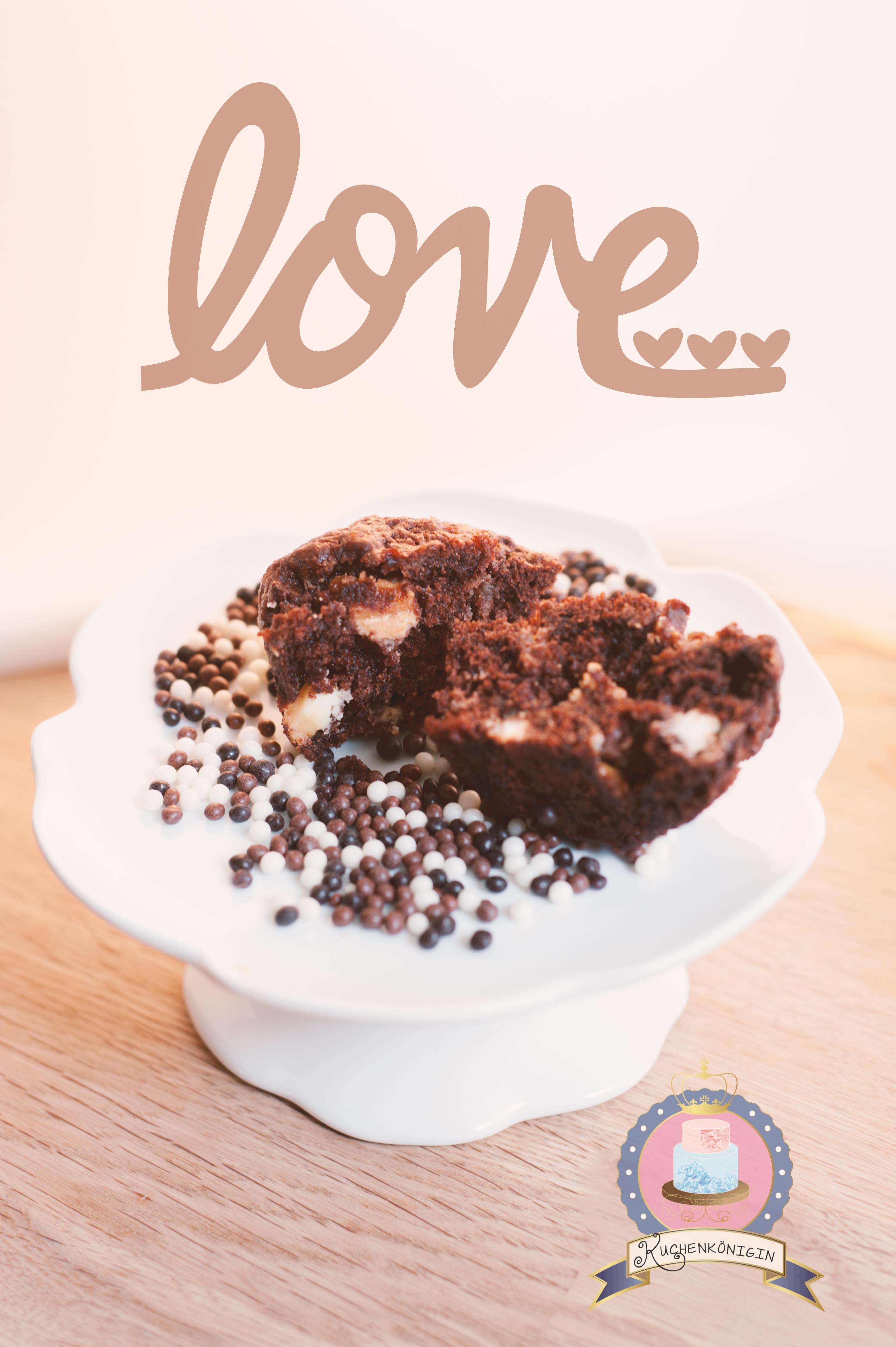 Weiße & dunkle Schokolade Cupcakes