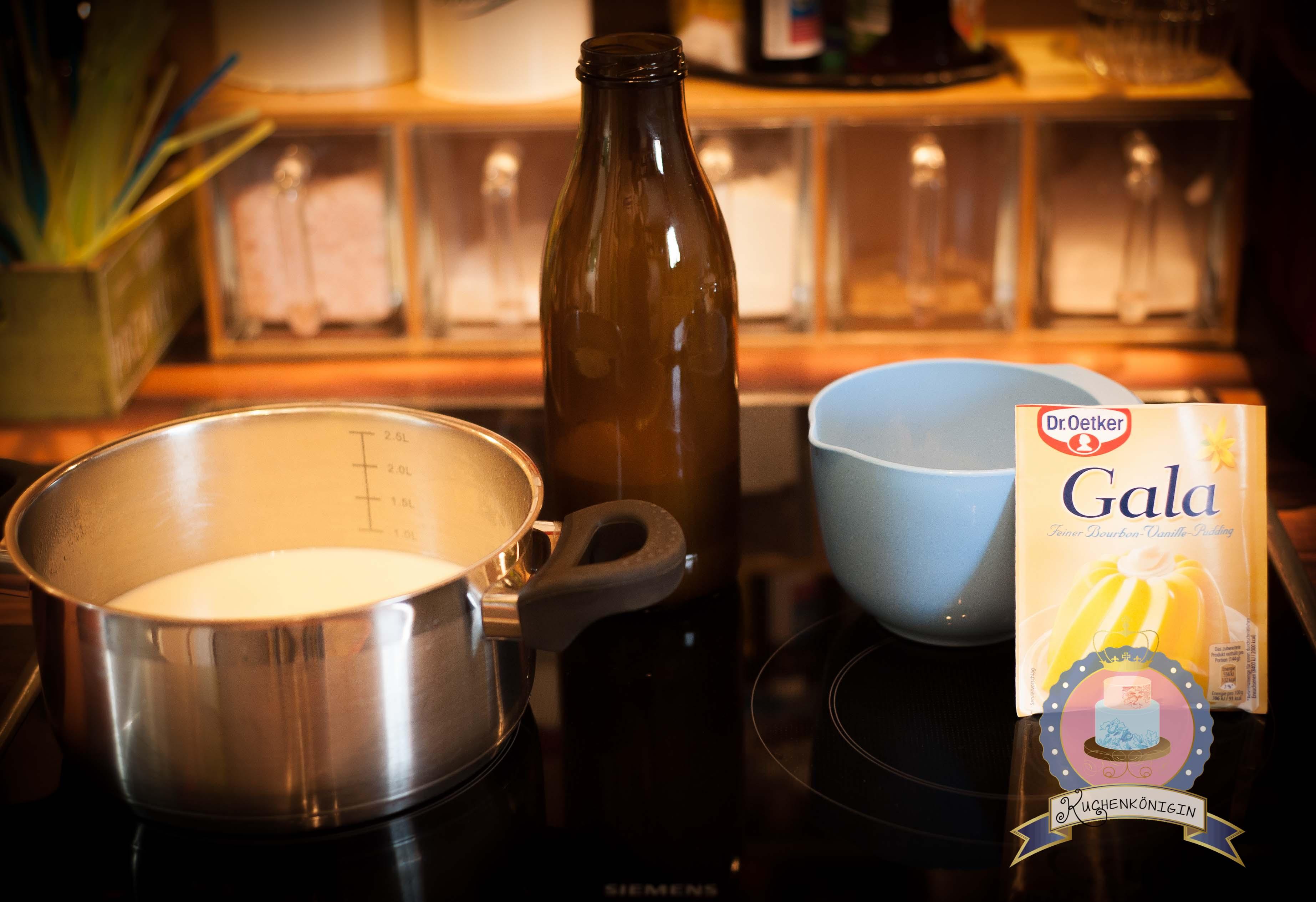 Kuchenkönigin Rezept Vanille Pudding Buttercreme Cupcake Tpping Tortenfüllung Tortencreme Einstreichen