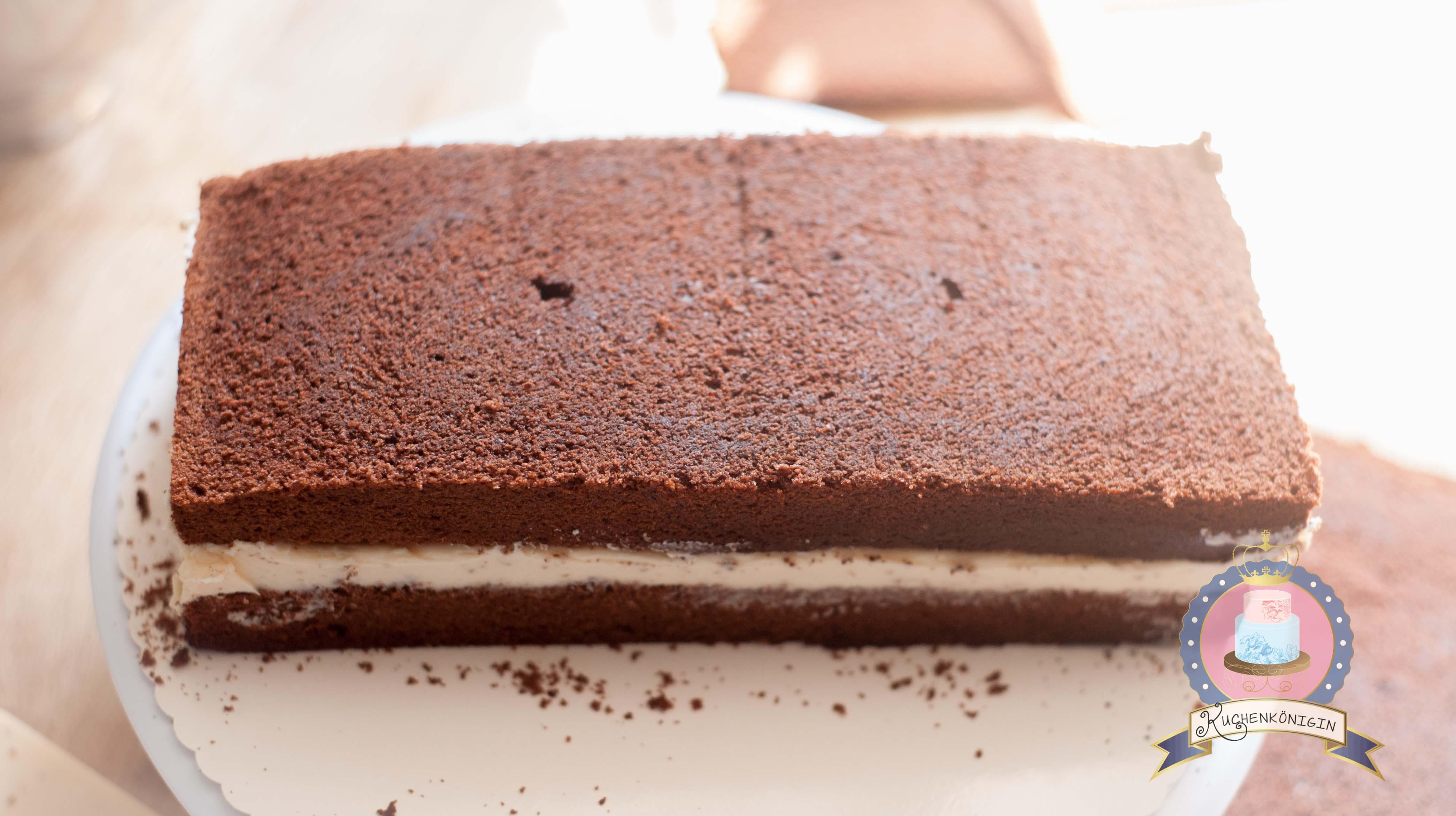 Milchschnitte Schoko Erdbeer Torte