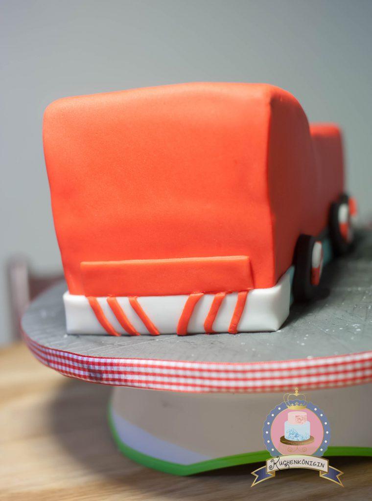 Kuchenkönigin Feuerwehrmann Sam Cake Kuchen Torte Kinder Kindergeburtstag Fireman Birthday Tutorial