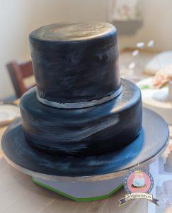 Chalkboard Vintage Wedding Cake Kuchenkonigin Tutorial Rezepte